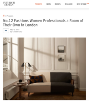 Interior Designer, Online, May 2018