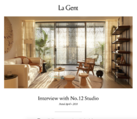 La Gent, Online, April 2018